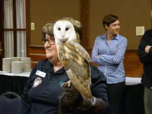 Raptor Presentation at Bald Eagle Watch Weekend